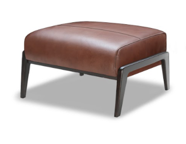 Picture of Rorschach Leather Ottoman