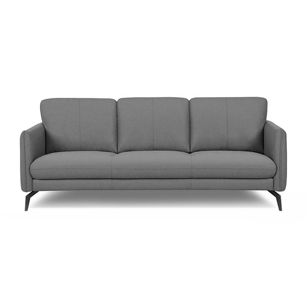 modern rock grey fabric sofa