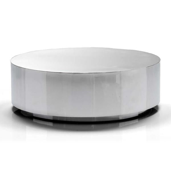 Sphere Coffee Table - Polished Chrome