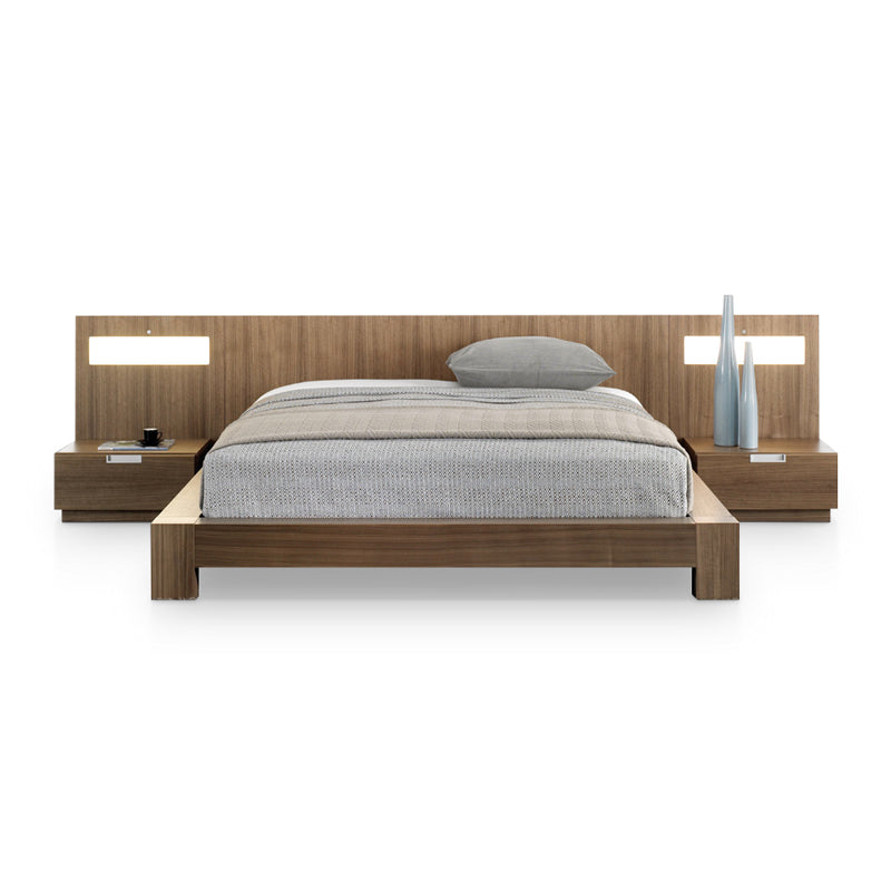 Picture of Stella Queen Platform Bed - Bedroom Set as Shown