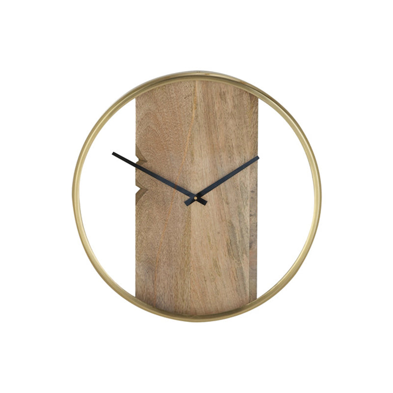 Picture of Wood and Brass Clock