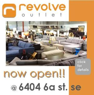 Welcome To Revolve Furnishings   Albertas Modern Furniture Stores.