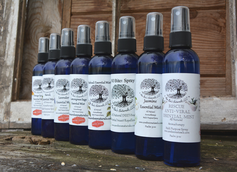 Essential Mists...Aromatherapy Sprays