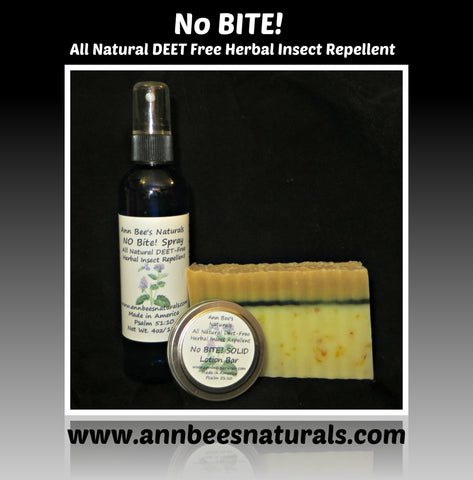 NO Bite All Natural DEET-Free Herbal Insect Repellent™