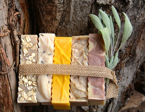 Is there Lye in Ann Bee's Naturals Soaps and Shampoo Bars