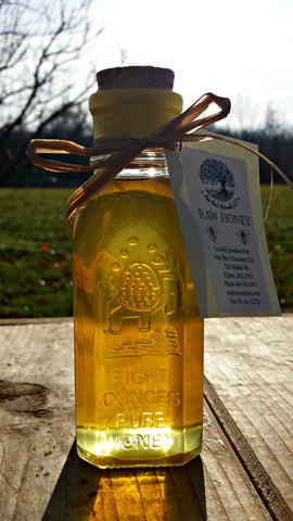 Raw Honey Muth Jar