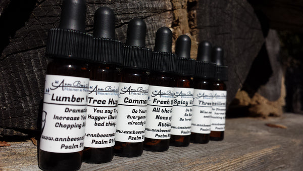 Beard Oil Sampler Set Into the Woods