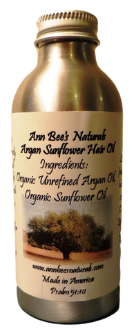 Argan Sunflower Hair Oil