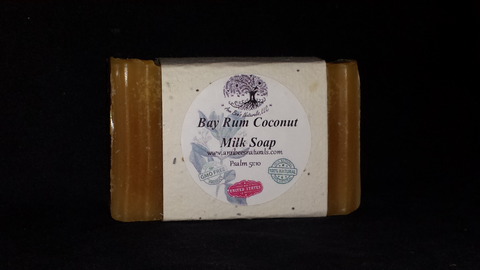 Bay Rum Coconut Milk Soap