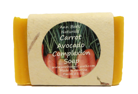 Carrot Avocado Complexion Soap