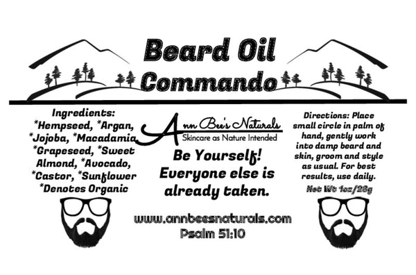 Commando Beard Oil