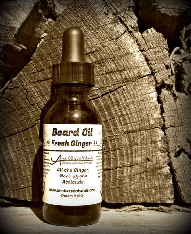 Fresh Ginger Beard Oil