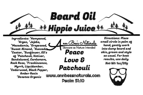Hippie Juice Beard Oil