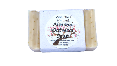 Almond Oatmeal Soap