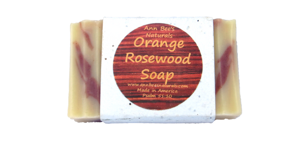 Orange Rosewood Body Soap