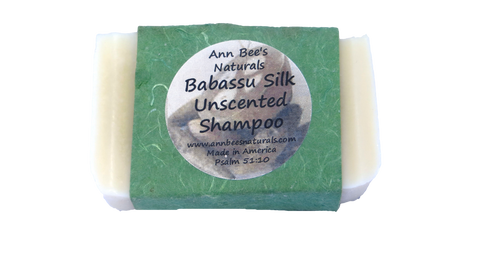 Babassu Silk Unscented Shampoo Bar