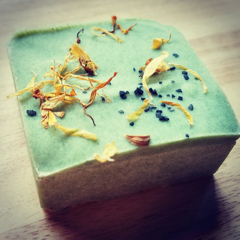 Hawaiian Bergamot & Cedarwood Salt Soap
