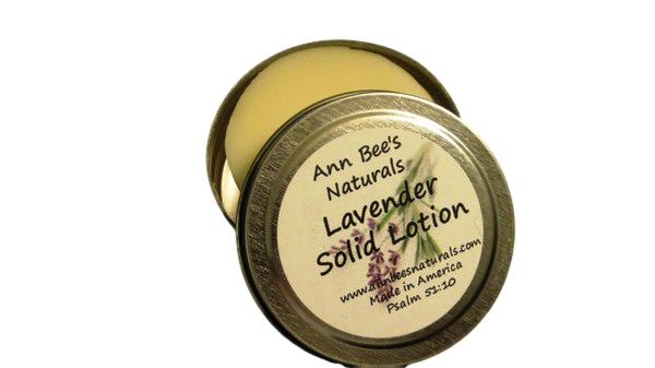 Lavender Solid Lotion Bar