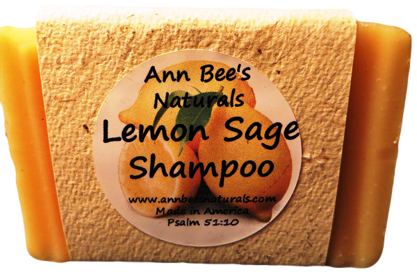 Lemon Sage Shampoo Bar