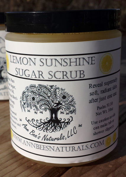 Lemon Sunshine Sugar Scrub