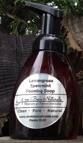 Lemongrass Spearmint Foaming Soap