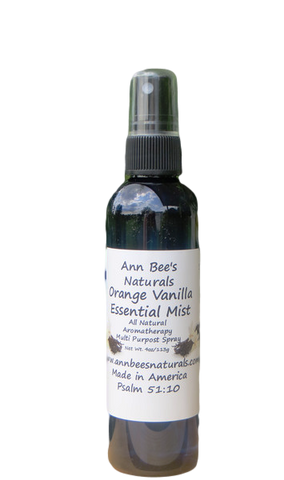 Orange Vanilla Essential Mist