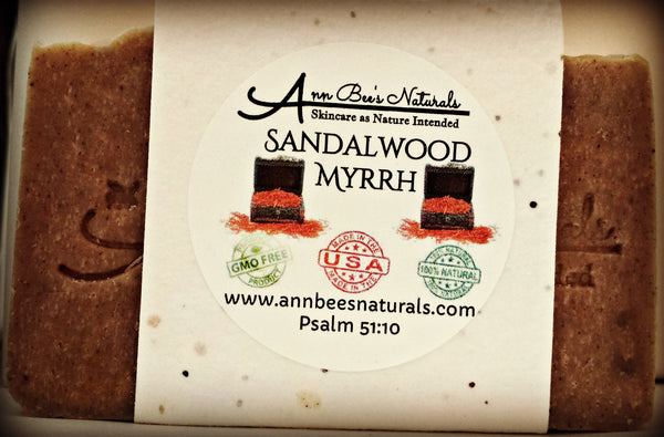 Sandalwood Myrrh Soap