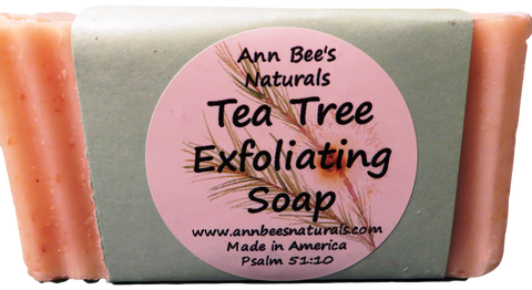Tea Tree Exfoliating Complexion Soap