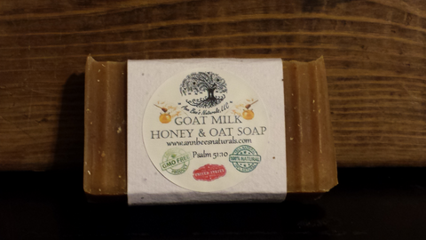 Honey & Oat Goat Milk Soap