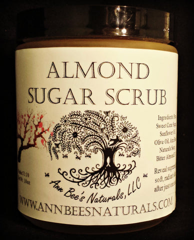 Almond Sugar Scrub