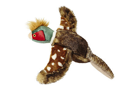 "Fluff & Tuff™ ""Ike the Pheasant"" Dog Toy"