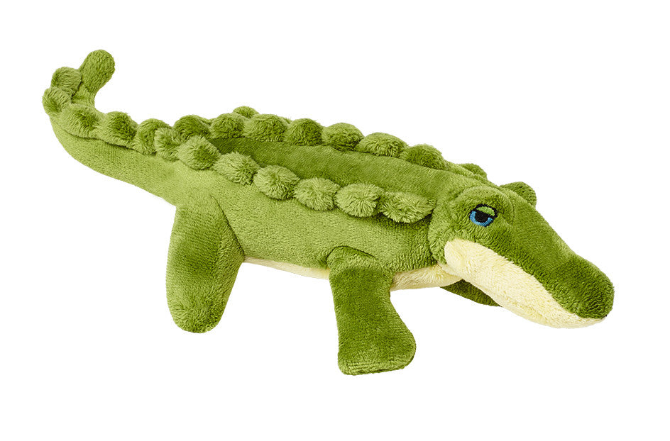 "Fluff & Tuff™ ""Savannah the Baby Gator"" Dog Toy"