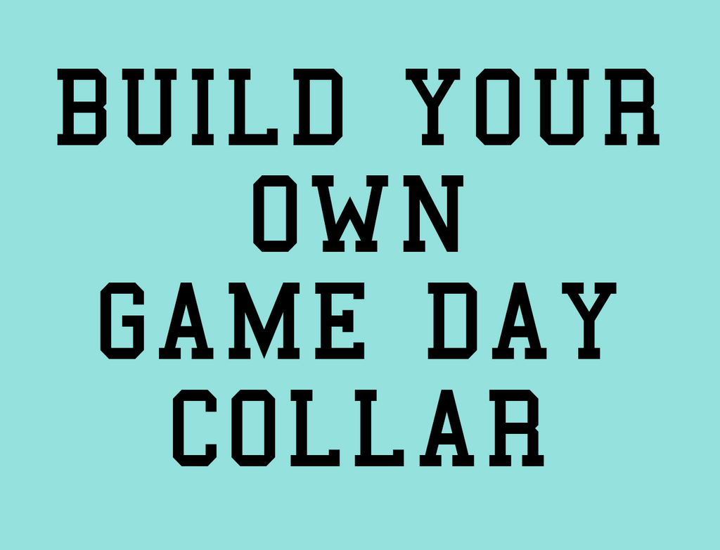 Build Your Own Game Day Dog Collar