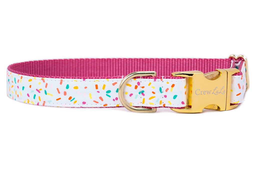 Birthday Sprinkles Dog Collar - Two Styles!
