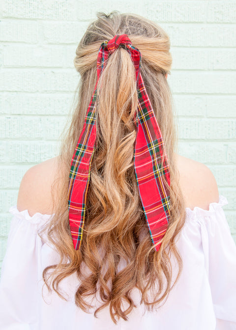 Scottish Tartan Hair Tie