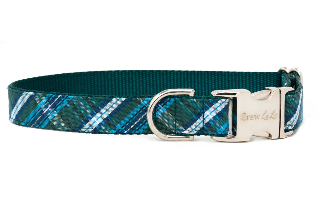 Hunter Plaid Dog Collar