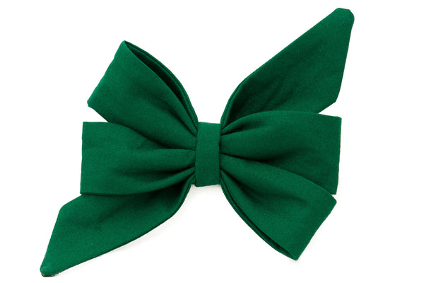 Solid Single Belle Bow™ (No Collar) - Pick Your Color!