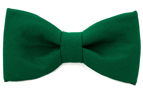 Solid Single Bow Tie (No Collar) - Pick Your Color!