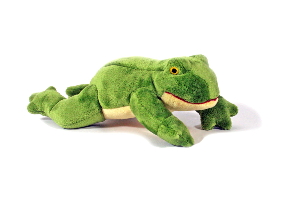 "Fluff & Tuff™ ""Olive the Frog"" Dog Toy"