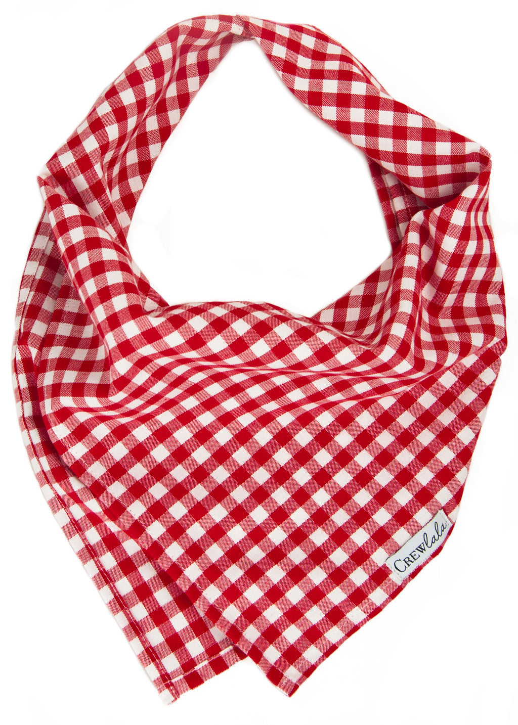 Red Picnic Plaid Dog Bandana
