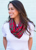Scottish Tartan Women's Infinity Scarf