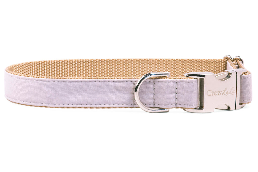 Ash Gray Dog Collar