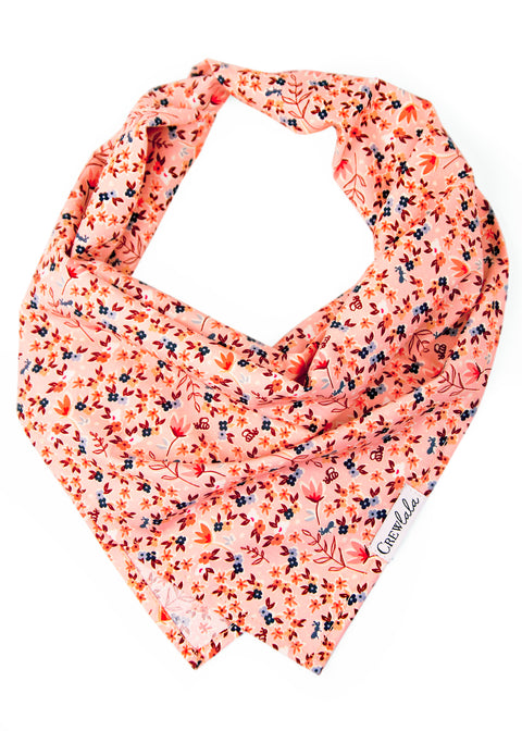 Autumn Fields Dog Bandana