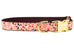 Autumn Fields Belle Bow Dog Collar