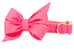Azalea Pink Belle Bow™ Dog Collar