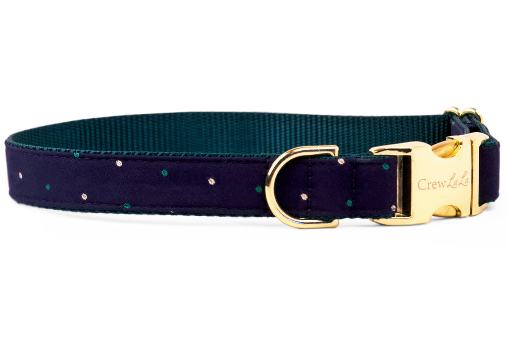 Baby Parker Dot Dog Collar