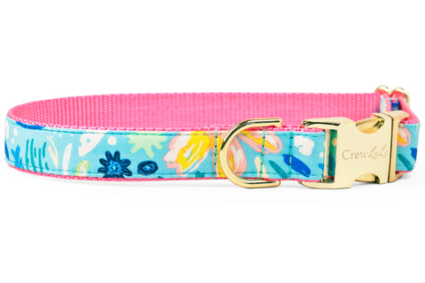 Bayside Blooms Dog Collar - Two Styles!