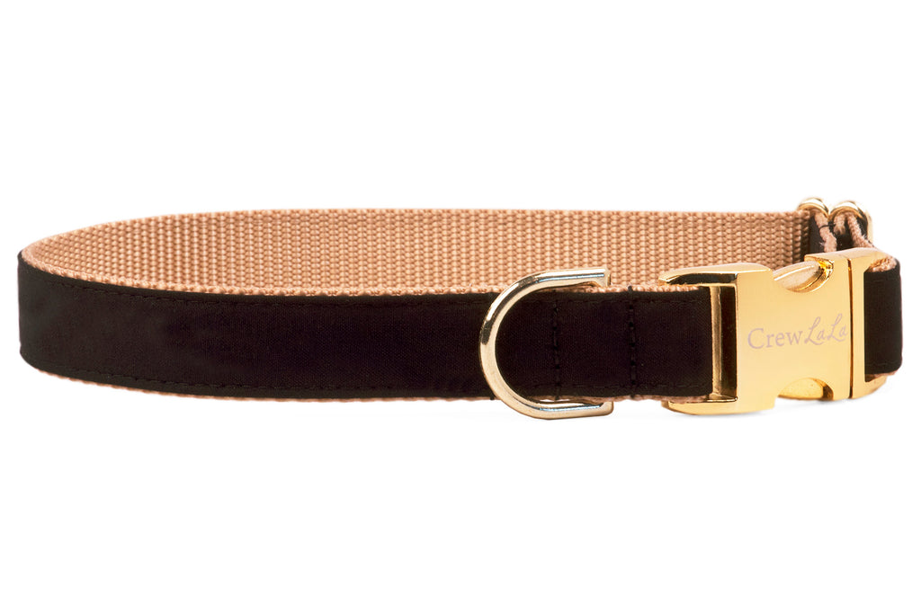 Black Onyx Dog Collar