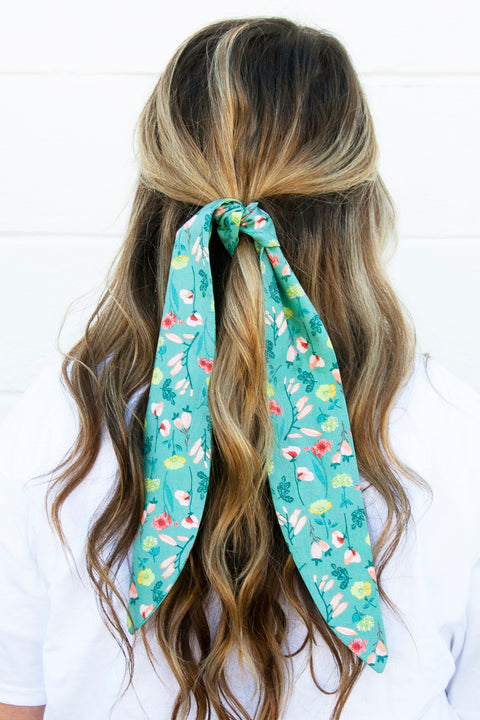 Blooming Wildflowers Hair Tie