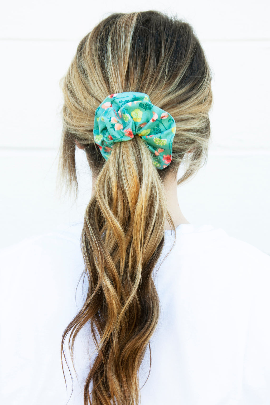 Blooming Wildflowers Scrunchie